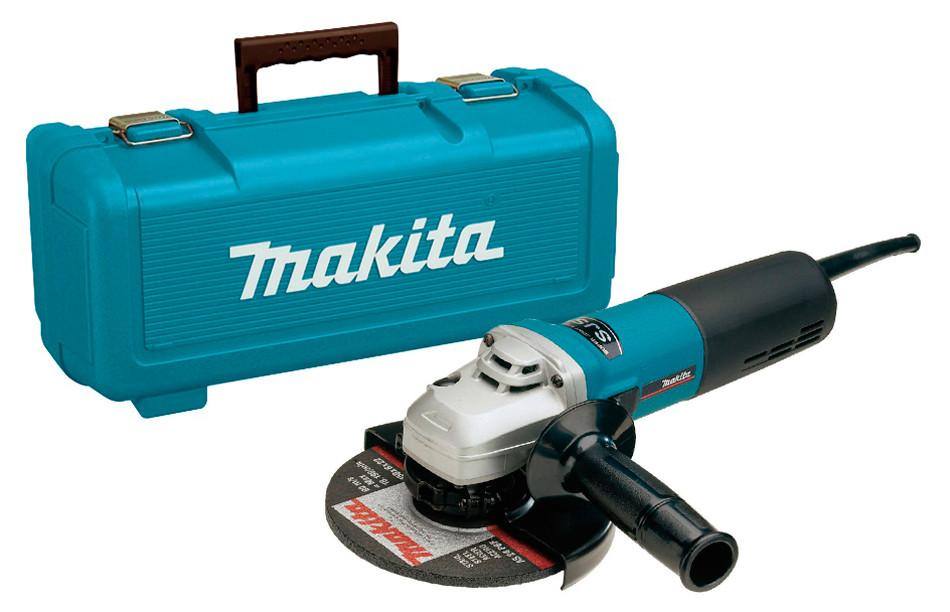 Угловая шлифовальная машина Makita 9565CVR с кейсом (9565CVRK)