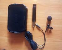 Петличный микрофон электретный конденсаторный CTP-10DX-TE
