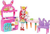 """Игровой набор Enchantimals """"Кухня Кролика Бри"""", FRH44 / FRH47"""