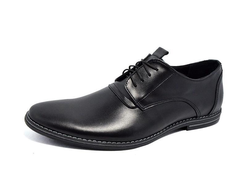 Мужские кожаные туфли классика от Van Kristy