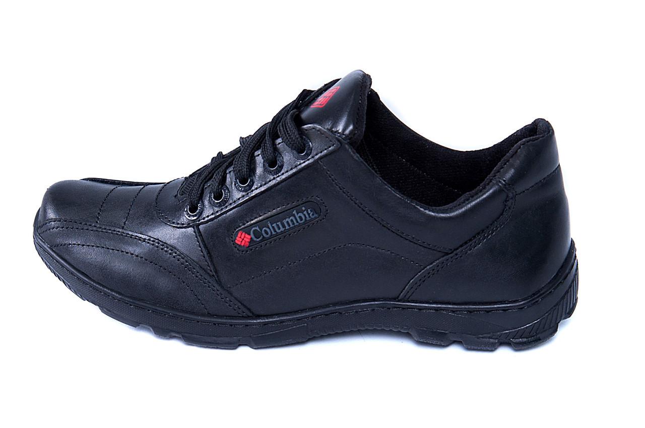 Мужские кожаные кроссовки Columbia ZK (реплика)