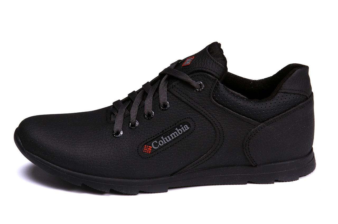 Мужские кожаные кроссовки Columbia Yaugour (реплика)