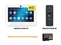 Комплект сенсорного видеодомофона NEOLIGHT ALPHAHD \ NEOLIGHT PRIME HD