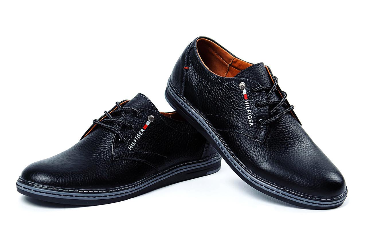 Купить Мужские кожаные туфли Tommy Hilfiger (реплика) в Украине от ... b245ab97969b6