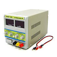 Блок питания WEP PS-305D с переключателем Hi (A)/Lo (mA) 30V 5A цифровая индикация