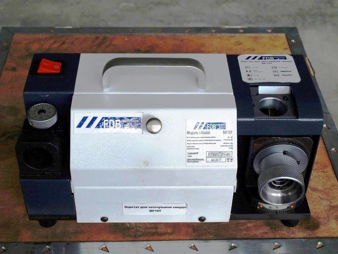 Верстат для заточування свердел MF10T FDB Maschinen