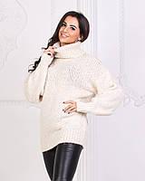 Теплый женский свитер пр-во Турция.