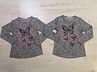 Реглан для девочек оптом, Sincere, 98-128 см,  № LL-2095, фото 1