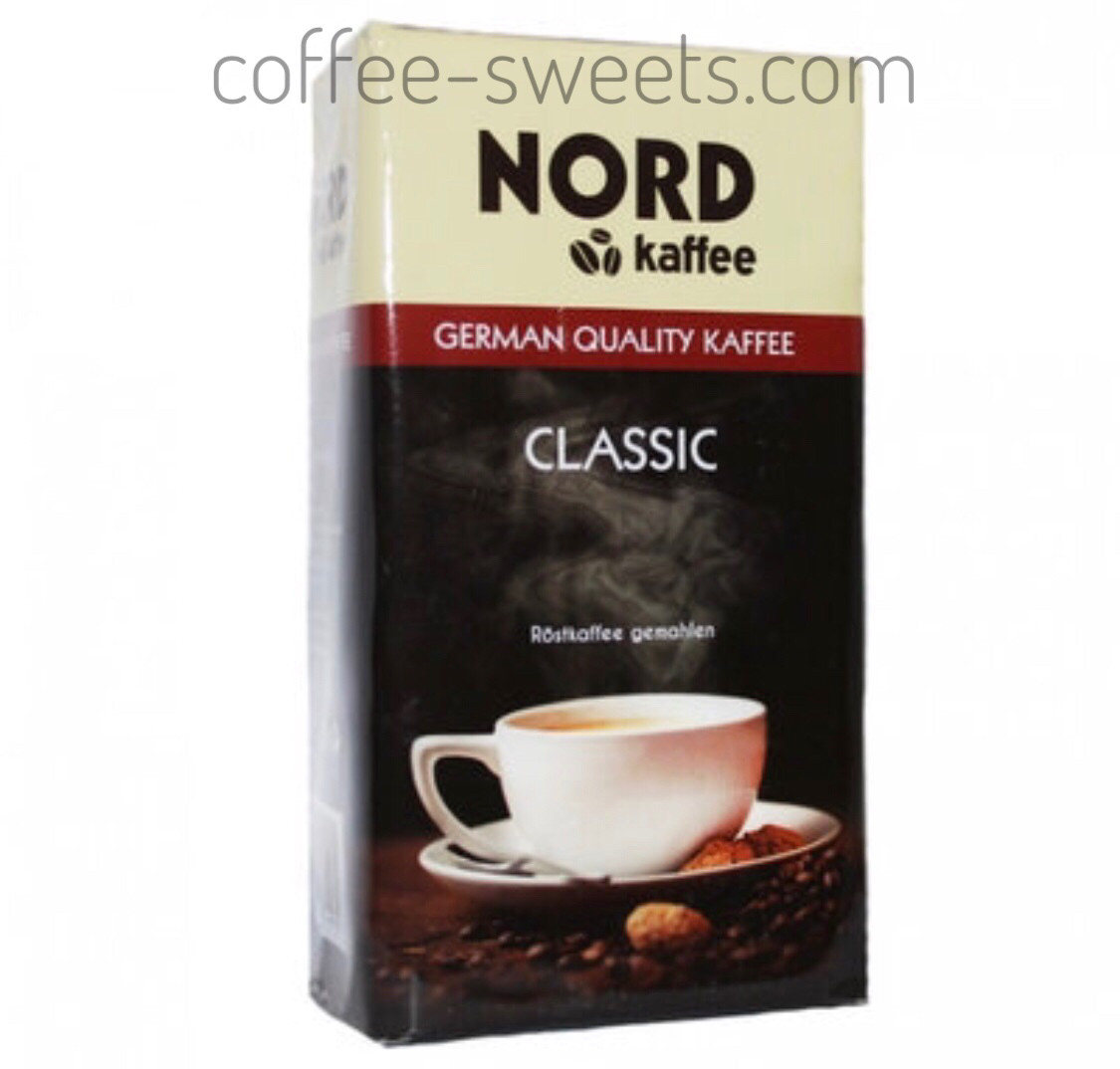Кофе молотый Cafe Nord Classic 500гр