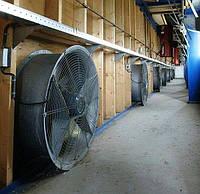 Профессиональная установка систем вентиляции в овощехранилище