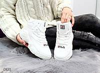 Женские Белые Спортивные Кроссовки Высокие со шнурками р.37,38,39,40,41 , фото 1