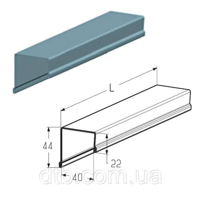 Профиль концевой верхний PRG-37 Alutech