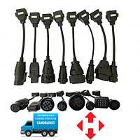 Набор кабелей переходников Delphi/AUTOCOM Trucks для грузовых авто