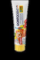 Зубная паста Dontodent Zahngel KIDS до 6 лет, 100мл