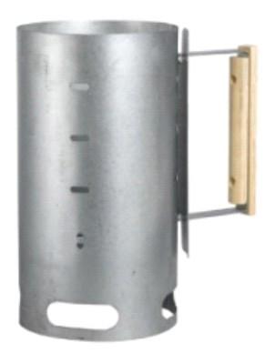 Кружка для розжига костра из коррозиестойкой оцинковоной стали. С деревянной ручкой. d=16, 5мм А5-1 Lodge Cost Iron 1800091