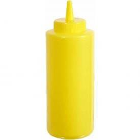 Контейнер пластиковый для соуса 750мл желтый PSB-24Y Winco 4220136
