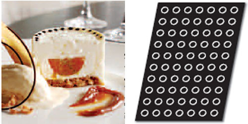 Форма силикон. для выпечки полусфера FP01265 Demarle 6040064