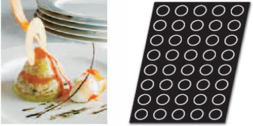 Форма силикон. для выпечки конусы-вставки FP01103 Demarle 6040052