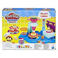 Игровой набор пластилин  HASBRO PLAY-DOH FOOD ROLE PLAY Сладкая вечеринка Плей До (B3399), фото 1
