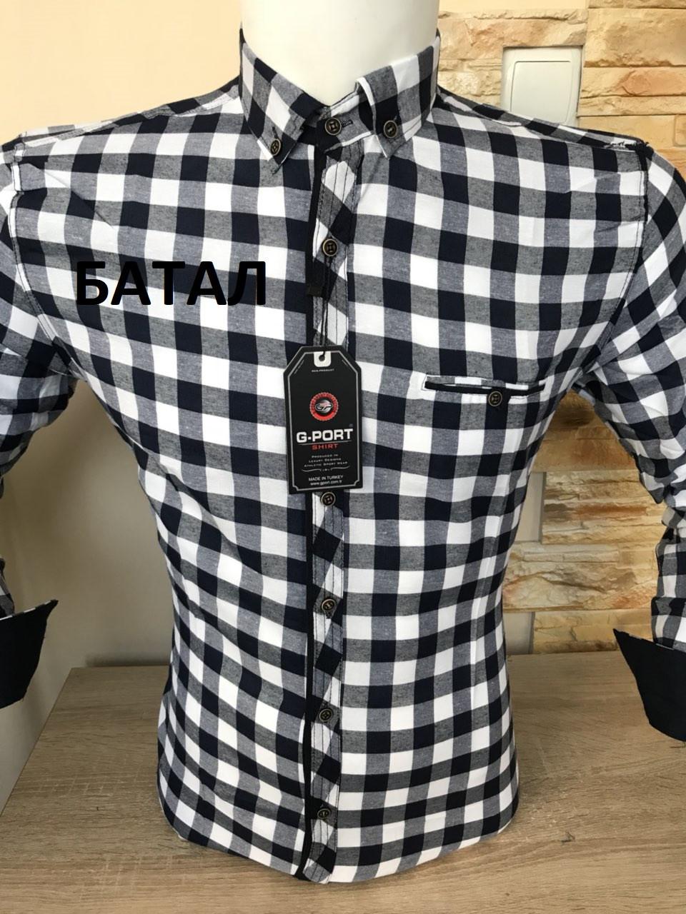 Батальная рубашка  G-port в клетку
