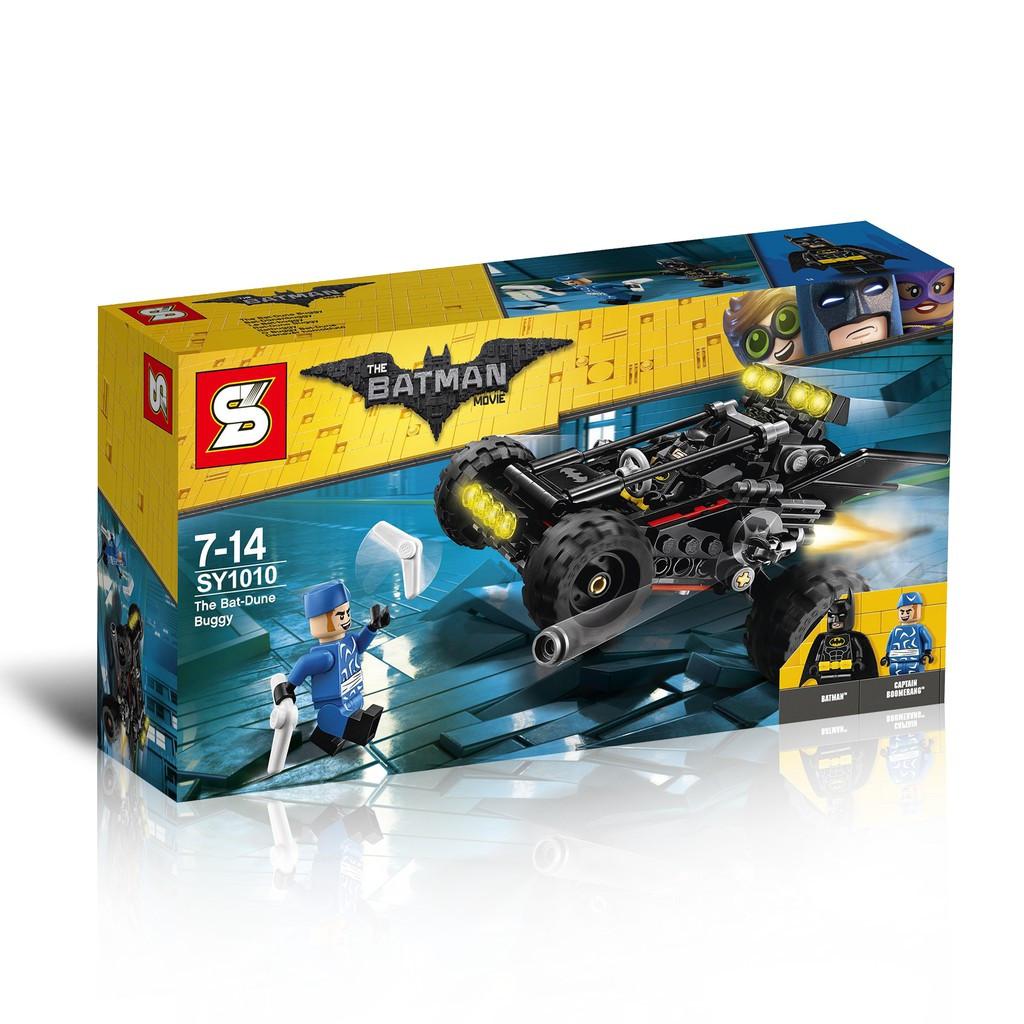 Конструктор LEGO The Batman Movie Пустынный бетбагги лего SY 1010 70918