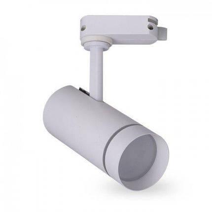 Светодиодный трековый светильник AL-106L 18W 6500К белый Код.59456, фото 2
