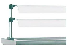 Полка стеклянная 2-х ярусная SAV2175. 2Р Friemo 6110060