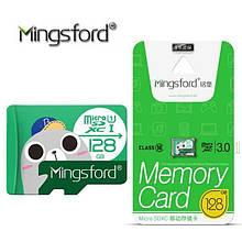 Карта пам'яті micro sd MicroSD Mingsford 128G U1 90M/s