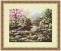 """Набор для вышивания крестом """"Японский садик"""""""