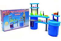 Детская игрушечная мебель Глория Gloria для кукол Барби Кухня 2916. Обустройте кукольный домик