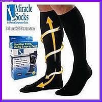 Компрессионные гольфы носки для профилактики и лечения ног Miracle socks