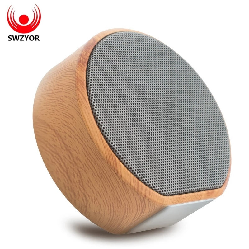Компактная SWZYOR A60 портативная блютуз акустика,блютуз колонка радио