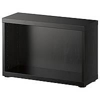 Корпус IKEA BESTA Корпус 60x20h38, черно-коричневый (602.459.57)