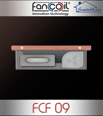 Внутрипольный конвектор Fancoil с принудительной конвекцией FCF 09 , фото 2