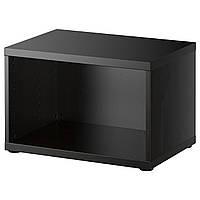 Корпус IKEA BESTA Корпус 60x40h38, черно-коричневый (602.459.62)