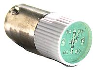 Лампа сменная  зеленая матрица 220B ИЭК