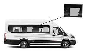 Боковое стекло длинная база Ford Transit 2014-2018 среднее правое