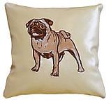 Детская сувенирная подушка с вышивкой, фото 3