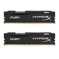 Оперативная память Kingston HyperX Fury Black 16GB 2x8GB (HX424C15FB2K2/16)