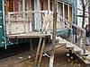 Лестница открытая из нержавеющей стали, фото 4
