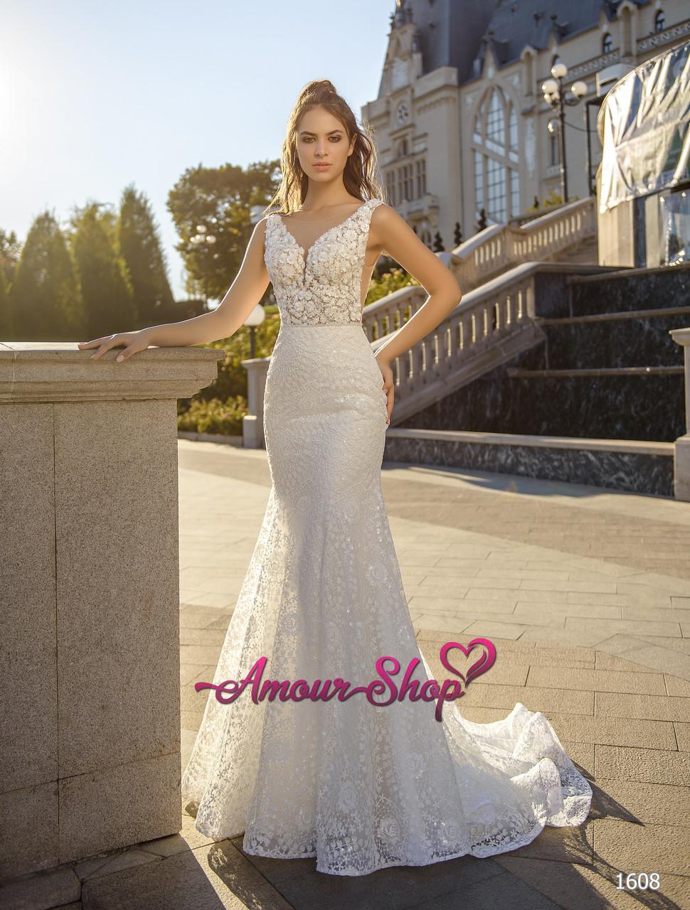 """Свадебное платье """"Рыбка"""",  пошив под заказ, Киев."""