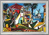 Набор для вышивки бисером ТМ Батерфляй Средиземноморский пейзаж (по картине П. Пикассо) БФ 361