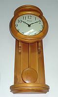 Часы настенные из дерева с маятником Kronos SC-510R, 50см