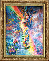 Набор для вышивки бисером ТМ Батерфляй Ирис хранительница радуги (по карт. Дж. Уолл) БФ 461