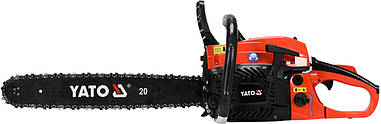 Цепная бензопила 3,4 л.с. YATO YT-84910