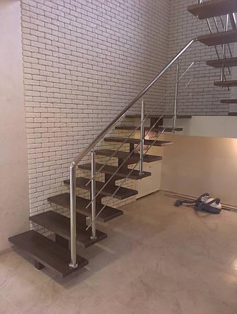Лестница открытая на одном косоуре, фото 2