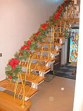 Лестница открытая на одном косоуре, фото 3