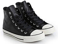 Мужские кеды Converse Chuck Taylor All Star Tumble Leather 157468C 42 Черные  (25309-7 224ac83d413af