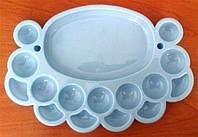 Органайзер для бисера овальный на 16 ячеек