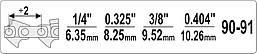 Станок для расклепки цепей бензопил YATO YT-84971, фото 3